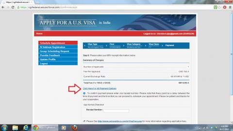 US Visa fee Payment: Process and Options to Pay Visa Application fee